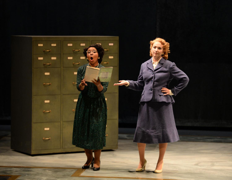 Amanda Sheriff as Miss Lightfoot, Grace Kahl as Mary Johnson