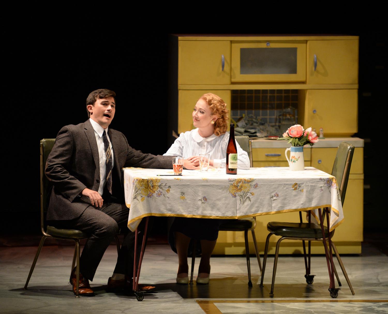 Christian Sanders as Timothy Laughlin, Grace Kahl as Mary Johnson