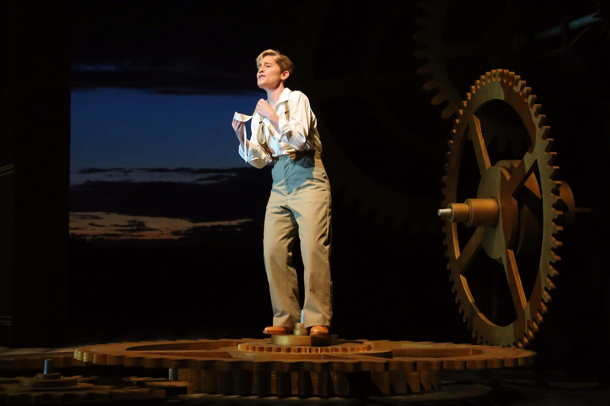 Megan Marino (Cherubino). Photo Credit: Curtis Brown For The Santa Fe Opera, 2021